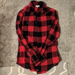 Sonoma button down flannel shirt